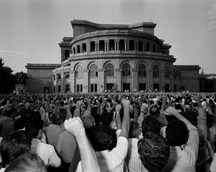 Image result for yerevan demonstrations 1988